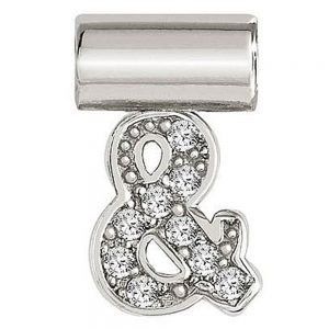 Drakes Jewellers Plymouth, Nomination, Gift For Her, silver Seimia symbol charm