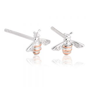 Drakes Jewellers Plymouth, Nomination, Gift For Her, honey bee stud earrings