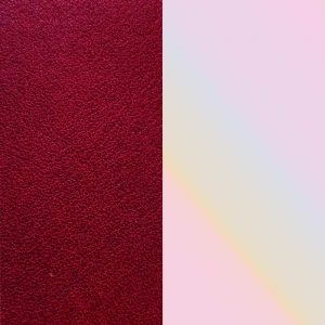 Drakes Jewellers, Les Georgettes, Les Georgettes Leather, Red and Textured Cream Leather