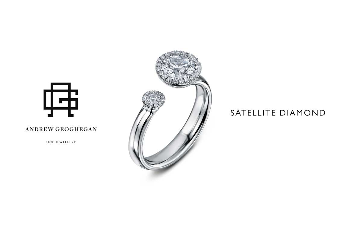 Drakes Jewellers, Satellite Ring, Diamond Ring, Andrew Geoghegan