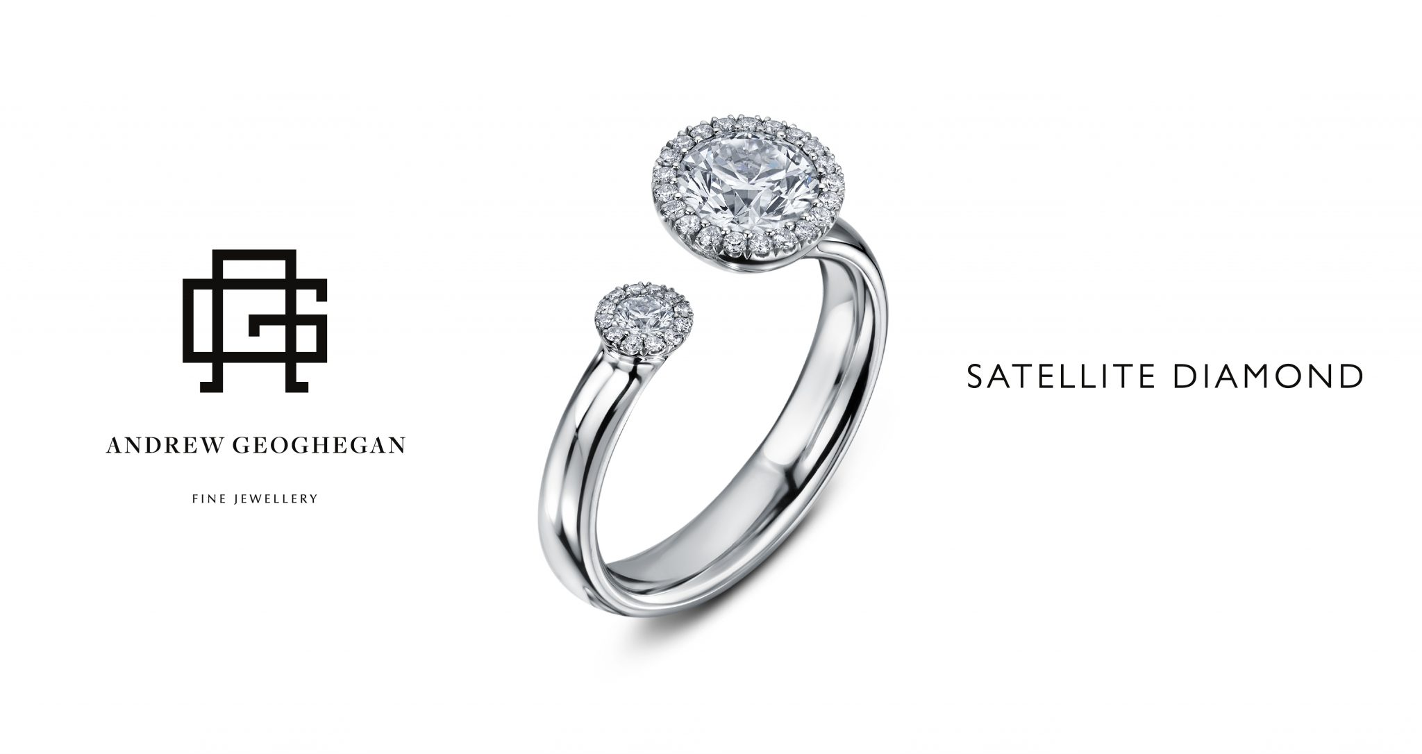 Satellite Diamond ring, Drakes Diamond Ring, Drakes Jewellers, Andrew Geoghegan