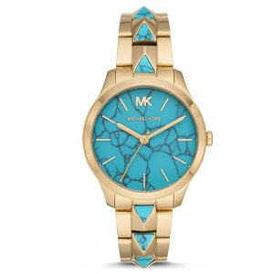 Drakes Jewellers Plymouth, Michael kors, Gift For Her, Watch Gifts, Turquoise yellow gold watch