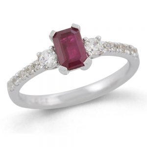 Drakes Jewellers Plymouth, Diamond Ring, Gift For Her, ruby diamond ring