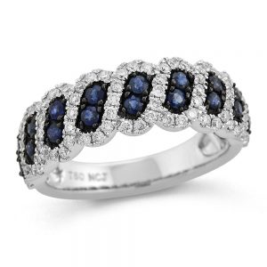 Drakes Jewellers Plymouth, Diamond Ring, Gift For Her, Sapphire diamond ring