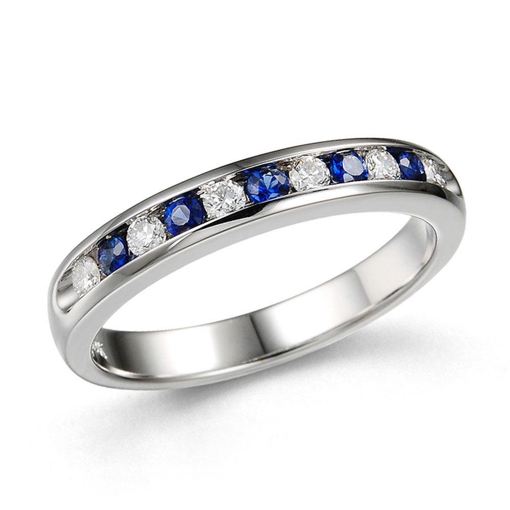 Drakes Jewellers Plymouth, Diamond Ring, Gift For Her, sapphire eternity ring