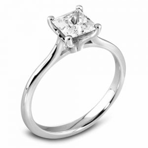 Princess Cut Diamond Ring, Drakes Jewellers, Plymouth, Diamond Ring, Engagement Ring