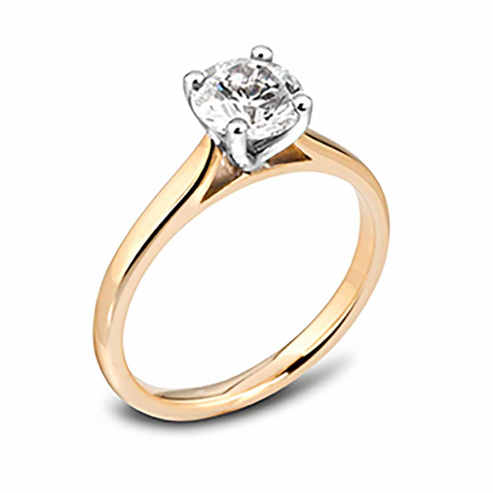 Diamond Ring, Engagement Ring, Yellow Gold Engagement Ring, Drakes Jewellers, Plymouth