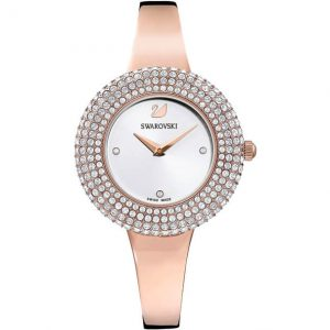 Drakes Jewellers Plymouth, Swarovski Jewellery, Gift For Her, rose gold crystal watch