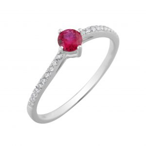 Drakes Jewellers Plymouth, Diamond Gifts, diamond ring, ruby diamond ring