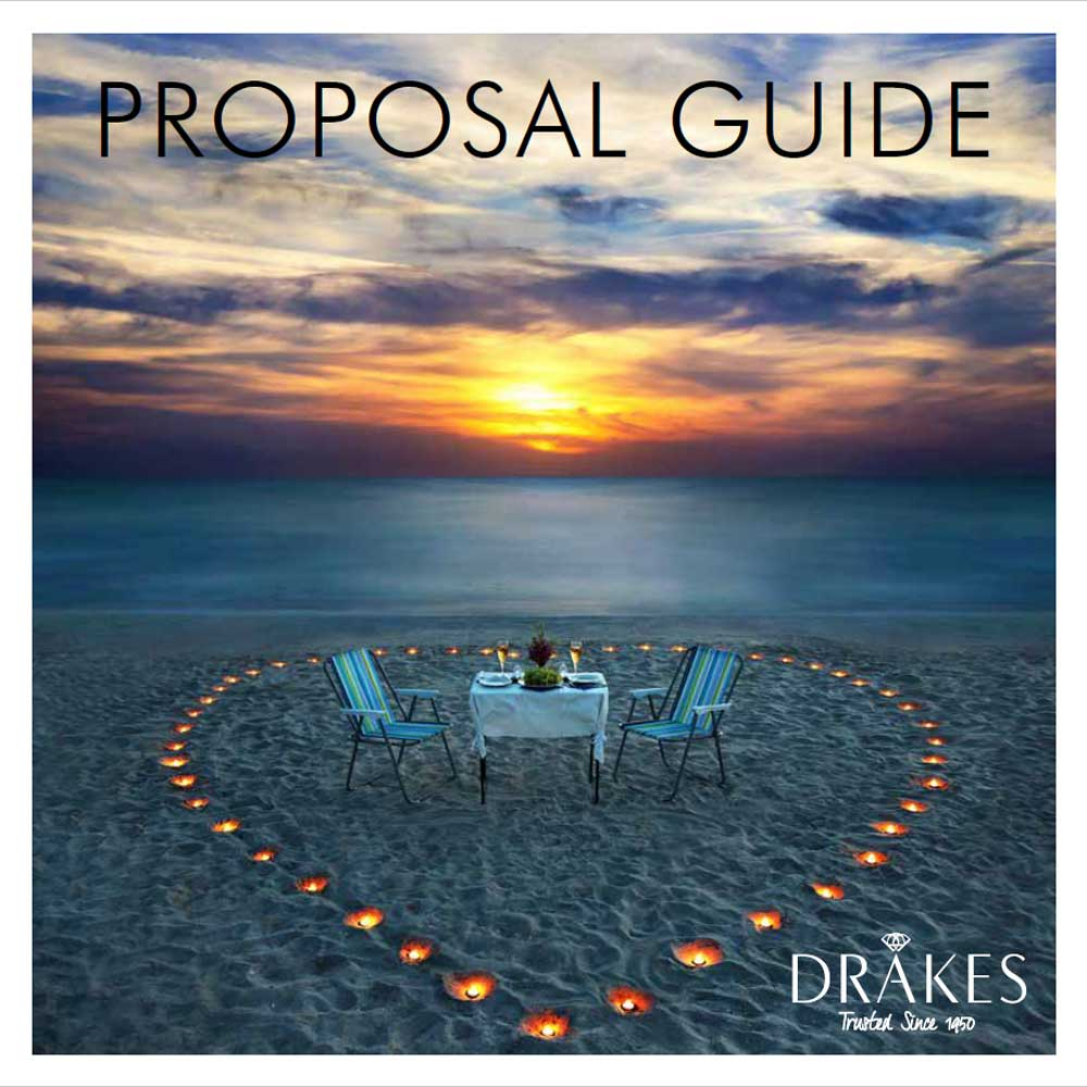 Drakes Jewellers, Proposal Guide, Drakes Proposal Guide, Proposal, Engagement