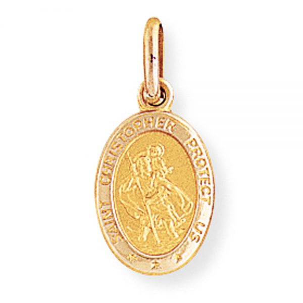 Drakes Jewellers Plymouth, Diamond Gifts, St Christophe Oval pendant