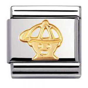Drakes Jewellers Plymouth, Nomination , Gift For Her, yellow gold boy charm