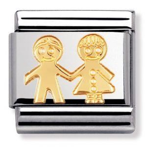 Drakes Jewellers Plymouth, Nomination , Gift For Her, yellow gold children charm