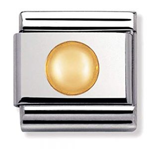 Drakes Jewellers Plymouth, Nomination , Gift For Her, yellow gold dot charm