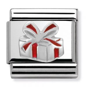 Drakes Jewellers Plymouth, Nomination , Gift For Her, red enamel present charm