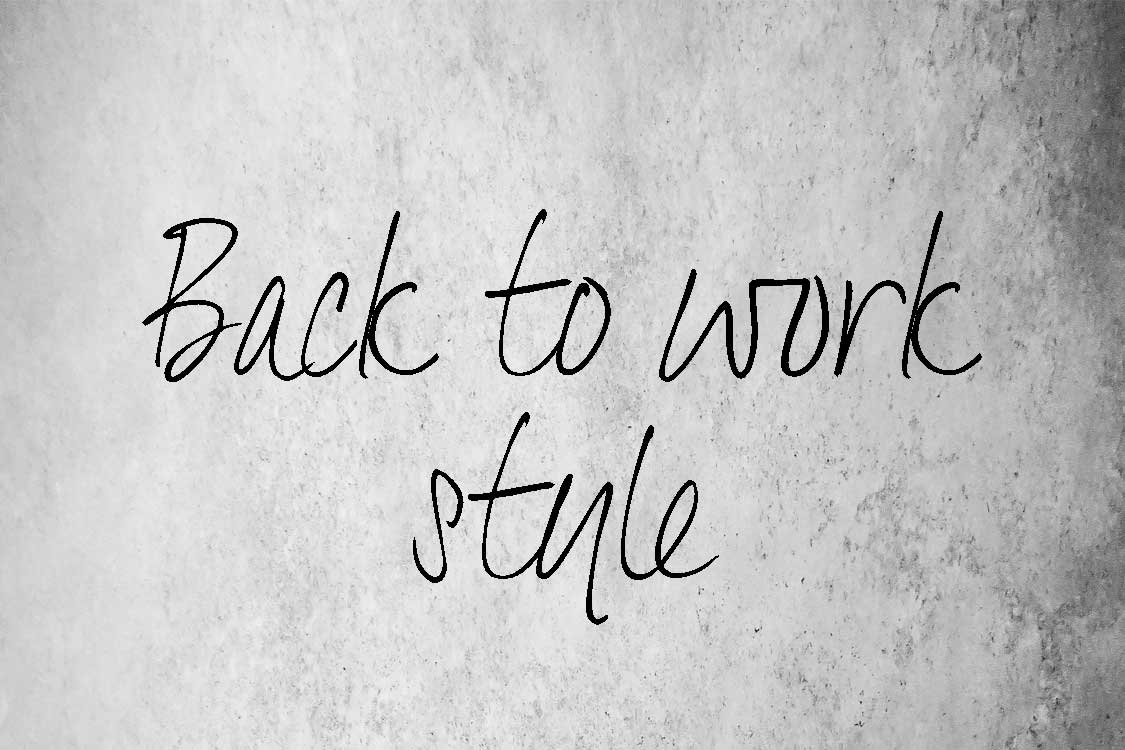 Drakes Jewellers, Back to work style, Blog