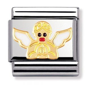 Drakes Jewellers Plymouth, Nomination , Gift For Her, yellow gold cupid charm