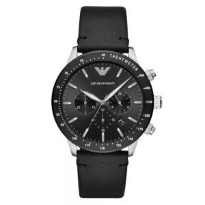 Drakes Jewellers Plymouth, Emporio Armani Watch, Gift For Him, black watch