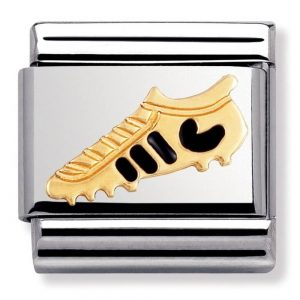 Drakes Jewellers Plymouth, Nomination Charm, gift for her, football boot charm