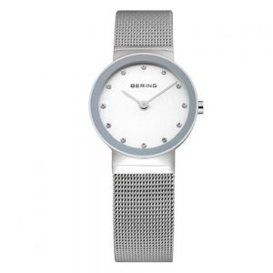 Drakes Jewellers Plymouth, bering watches, gift for her, watches for her, bering jewellery, silver mesh watch
