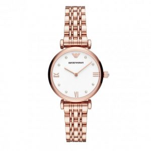 Drakes Jewellers Plymouth, emporia Armani watches, rose gold watch