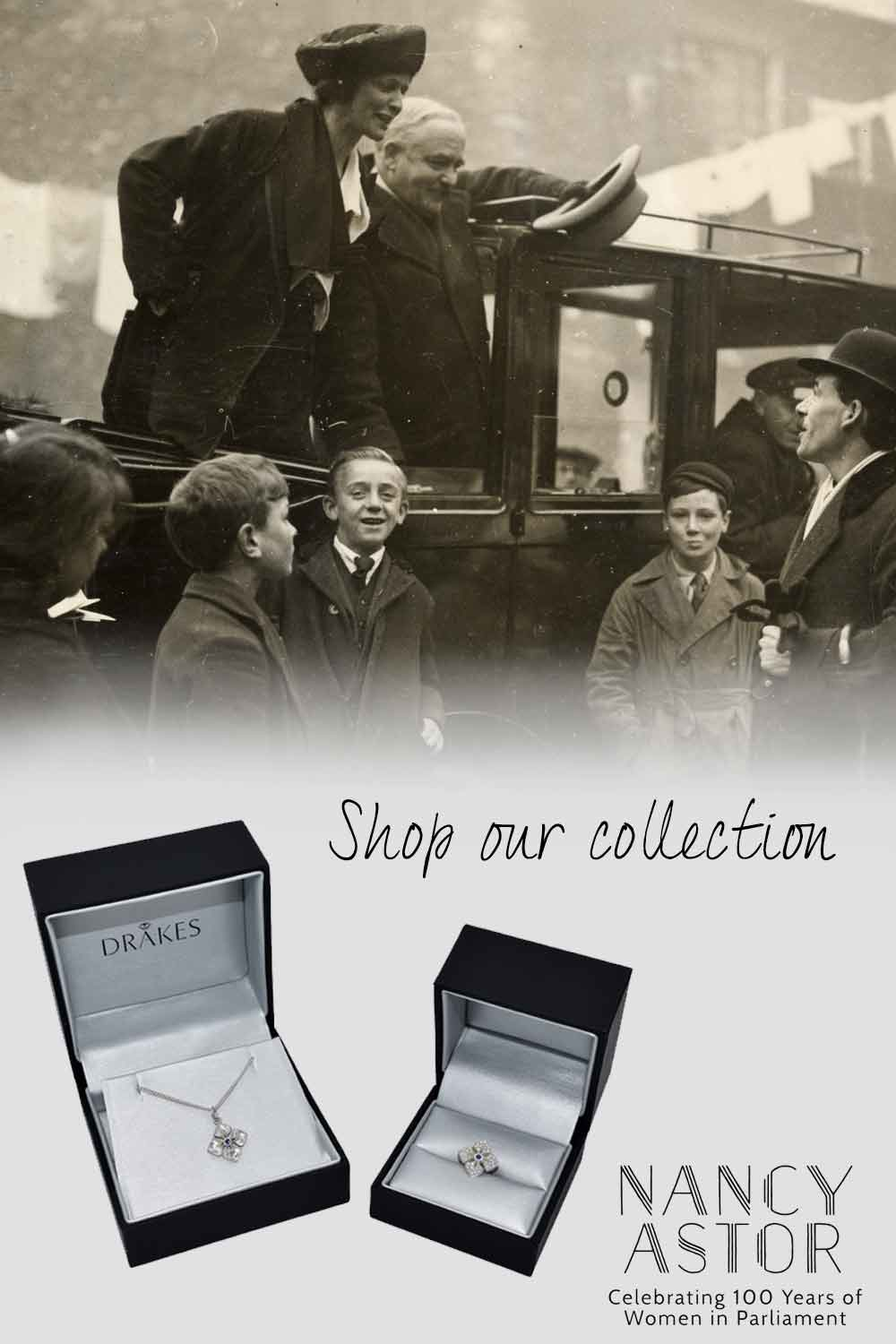 Nancy Astor Collection, Jewellery Collection, Exclusive Collection