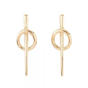 Drakes Jewellers Plymouth, Uno De 50, Gift For Her, Womens jewellery, Yellow gold hoop earrings