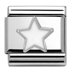 Drakes Jewellers Plymouth, Les Georgettes jewellery, Gift For Her, Les Georgettes, white enamel star charm