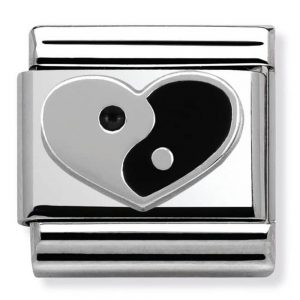 Drakes Jewellers Plymouth, Les Georgettes jewellery, Gift For Her, Les Georgettes, ying yang heart charm