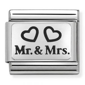 Drakes Jewellers Plymouth, Nomination Jewellery, Nomination Charm, Gift For Her, mr and mrs charm