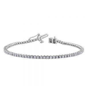 Drakes Jewellers Plymouth, Diamond Gift, Gift For Her, Special Occasion Gift, white gold tennis bracelet