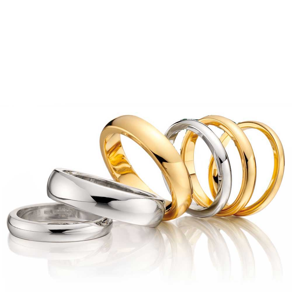 CHOOSE YOUR METAL, wedding rings