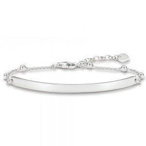 Drakes Jewellers Plymouth, Thomas Sabo Jewellery, Gift For Her, Gift For Him, silver plaque bracelet