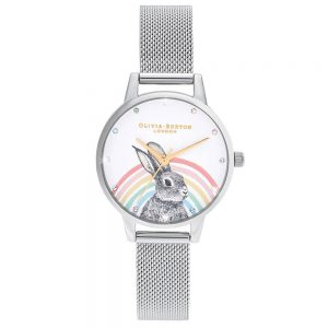 Drakes Jewellers Plymouth, Olivia Burton Watches, Gift For Her, Olivia Burton Jewellery, bunny rainbow bunny watch