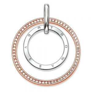 Drakes Jewellers Plymouth, Thomas Sabo Jewellery, Gift For Her, Gift For Him, Rose gold silver pendant