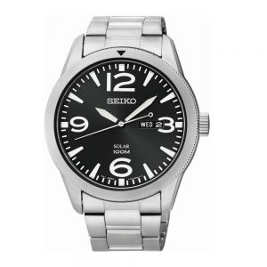 Drakes Jewellers Plymouth, Seiko jewellery, Seiko Watches, Gift For Him, Watches, silver black watch