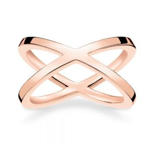 Drakes Jewellers Plymouth, Thomas Sabo Jewellery, Gift For Her, Gift For Him, rose gold cross ring