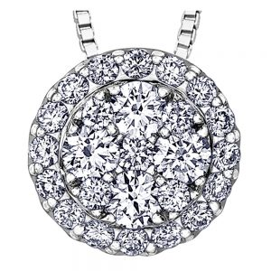 Drakes Jewellers Plymouth, Diamond Gift, Gift For Her, Special Occasion Gift, diamond round pendant