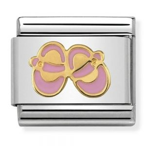 Drakes Jewellers Plymouth, Nomination Jewellery, Gift For Her, Gift For Him, baby shoes charm