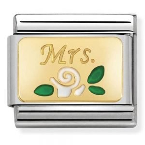 Drakes Jewellers Plymouth, Nomination Jewellery, Nomination Charm, Gift For Her, Gift For Him, mrs charm