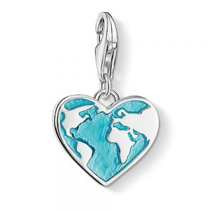 Drakes Jewellers Plymouth, Annie Haak Jewellery, Gift For Her, heart globe charm