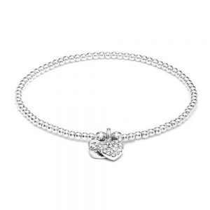 Drakes Jewellers Plymouth, Annie Haak Jewellery, Gift For Her, sparkle heart bracelet