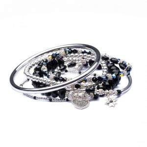 Drakes Jewellers Plymouth, Annie Haak Jewellery, Gift For Her, Aubrey stack bracelet