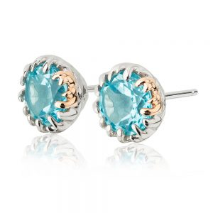 Drakes Jewellers Plymouth, Clogau Gifts, Gift For Her, Gift For Her, Blue stud earrings