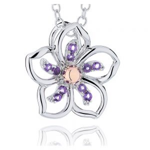 Drakes Jewellers Plymouth, Clogau Gifts, Gift For Her, Gift For Her, flower necklace