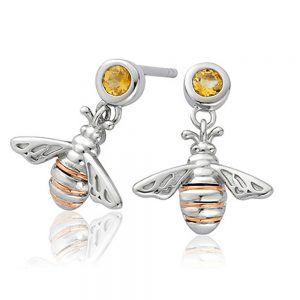 Drakes Jewellers Plymouth, Clogau Gifts, Gift For Her, Gift For Her, Honey bee earrings