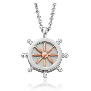 Drakes Jewellers Plymouth, Clogau Gifts, Gift For Her, Gift For Her, wheel ship pendant