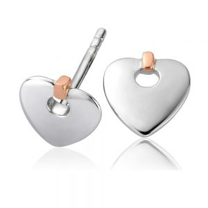 Drakes Jewellers Plymouth, Clogau Gifts, Gift For Her, Gift For Her, heart stud earrings
