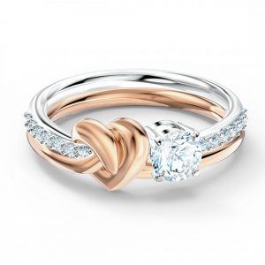 Drakes Jewellers Plymouth, Swarovski Gifts, Gift For Her, Gift For Her, rose gold heart ring