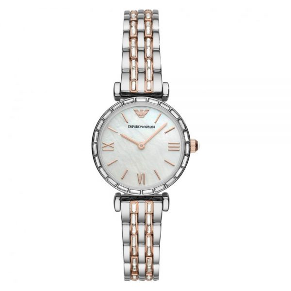 Drakes Jewellers Plymouth, Emporio Armani Watches, Gift For Her, rose gold bracelet watch